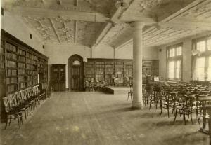Library with 'Canadian' Chairs