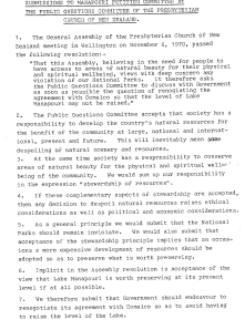 Letter from the Public Questions Committee, General Assembly 1970