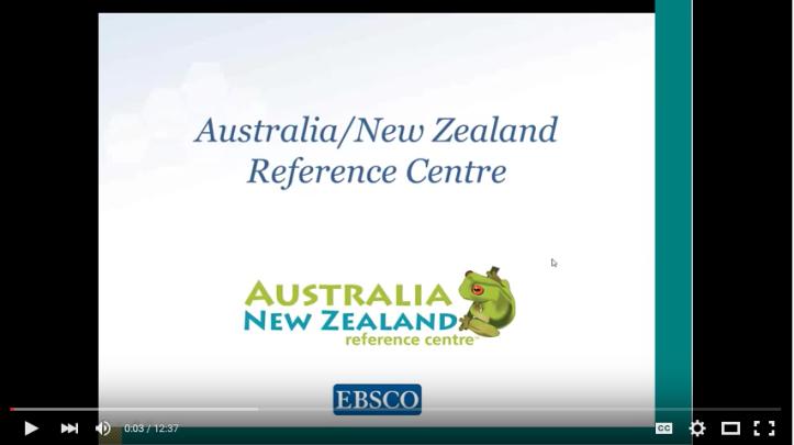 Aust NZ Ref Centre