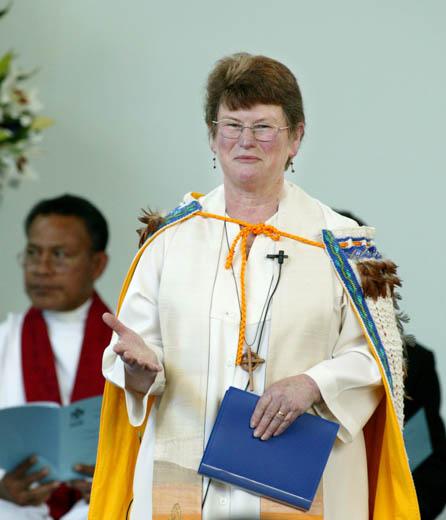 Very Rev. Pamela Tankersley, Moderator of General Assembly in 2006.
