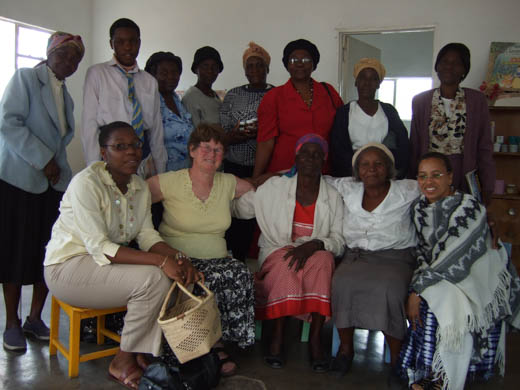 Very Rev. Pamela Tankersley on a trip to Bulaweo, Zimbabwe, with her work for the Council for World Mission.